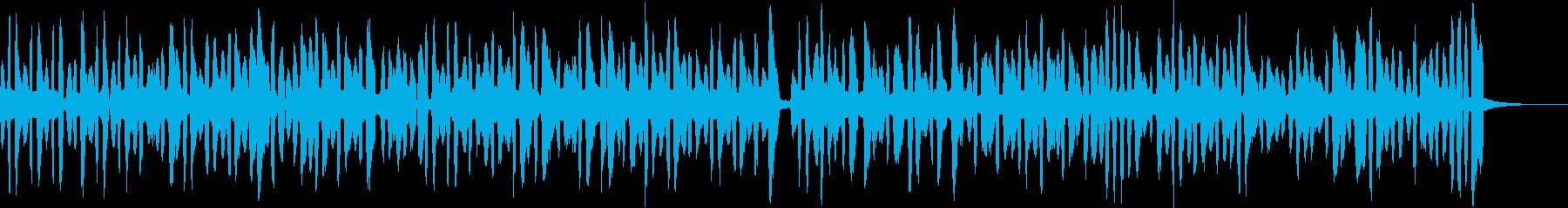 紙芝居の伴奏-3拍子-の再生済みの波形