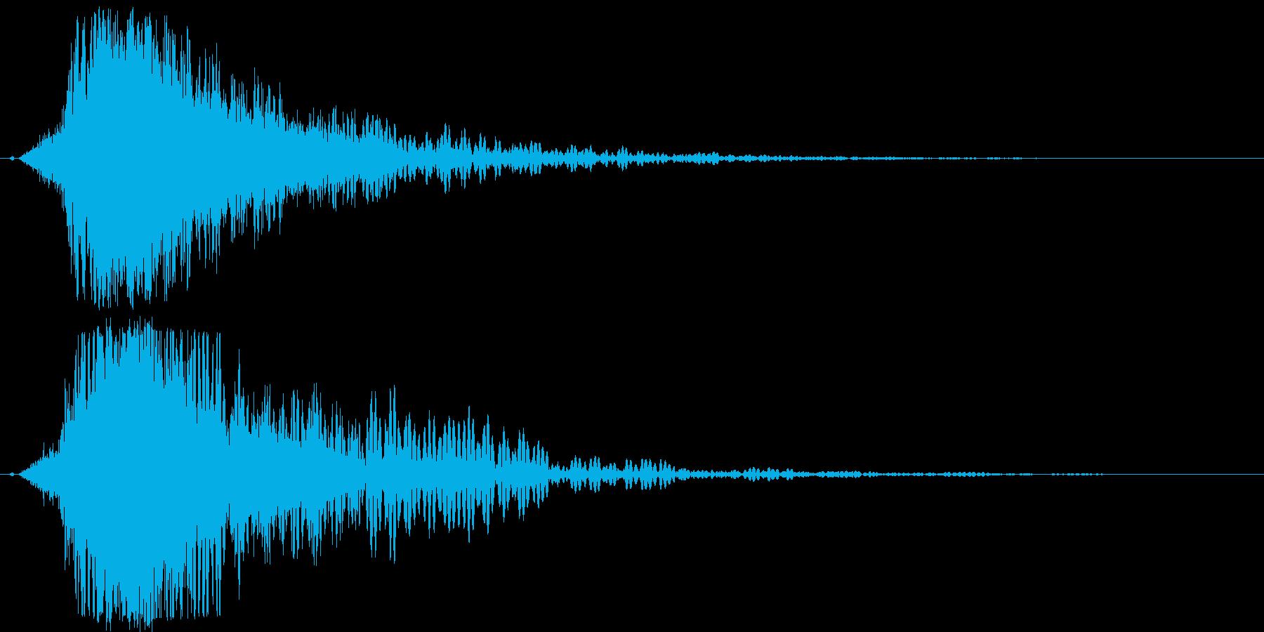 シャキーン♪クリア,達成,回復等に最適2の再生済みの波形