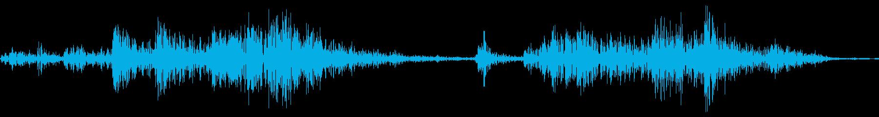 銃のリロード音【リアル・ジャキ!】の再生済みの波形