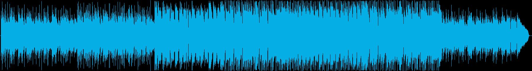 喜びと安堵を表現したポップバラードの再生済みの波形