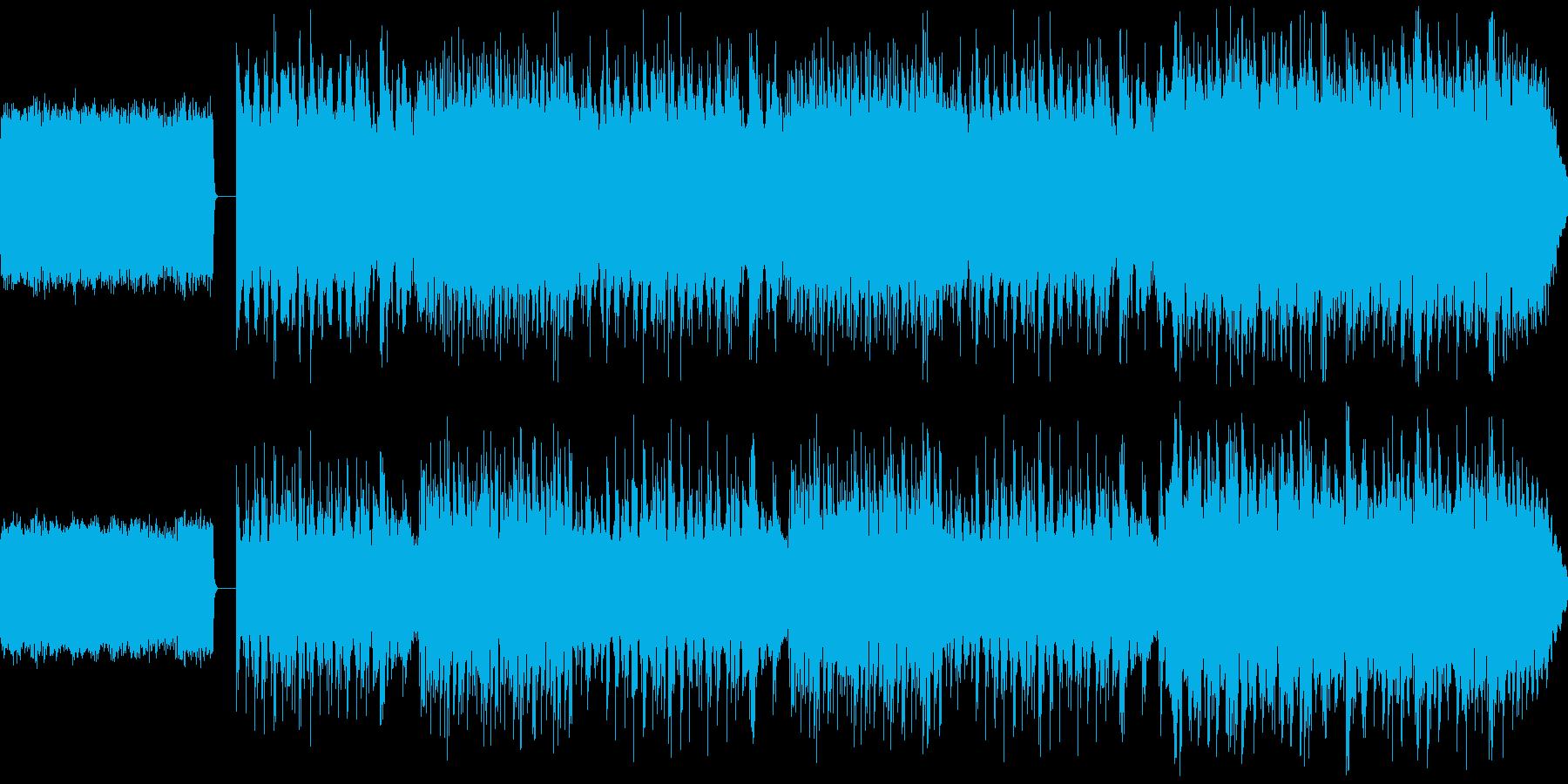 オルゴールを使ったクリスマスソングの再生済みの波形