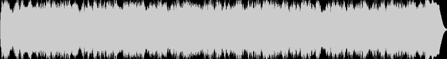 パイプオルガンの曲です。35秒です。の未再生の波形