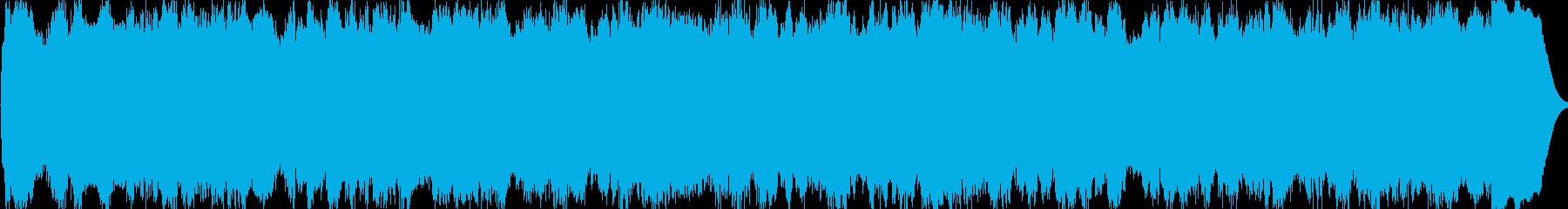パイプオルガンの曲です。35秒です。の再生済みの波形