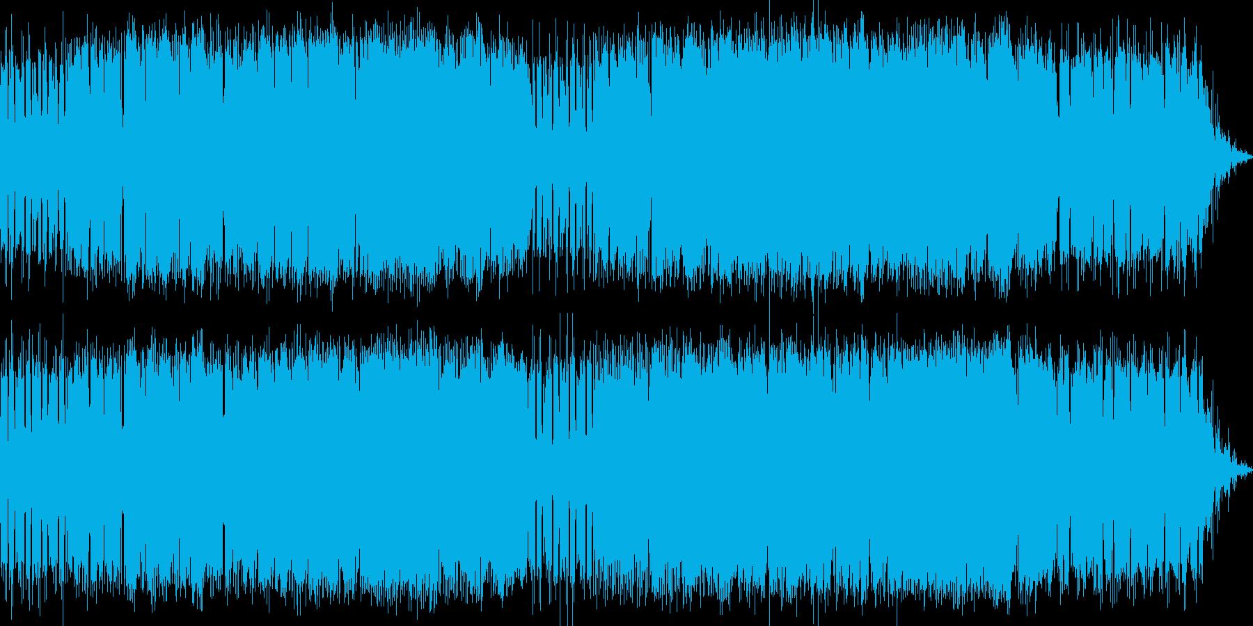 ムードある夏のメロディの再生済みの波形