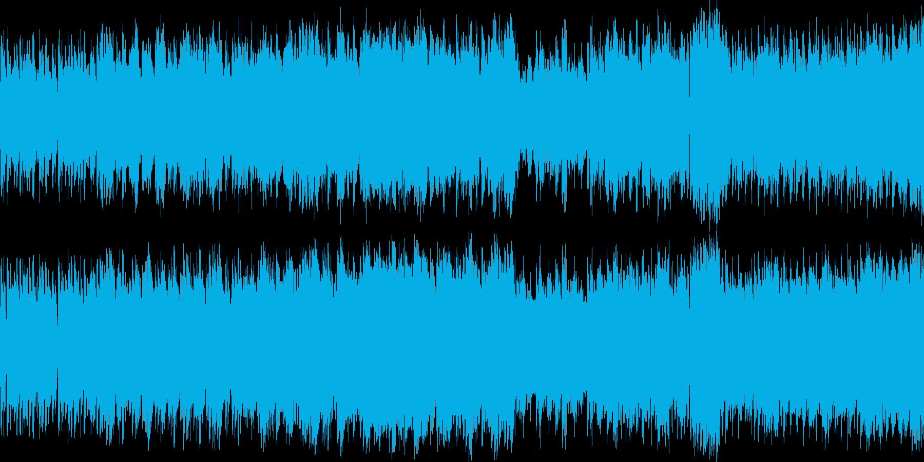 宇宙でのバトルゲームを想定した楽曲です…の再生済みの波形