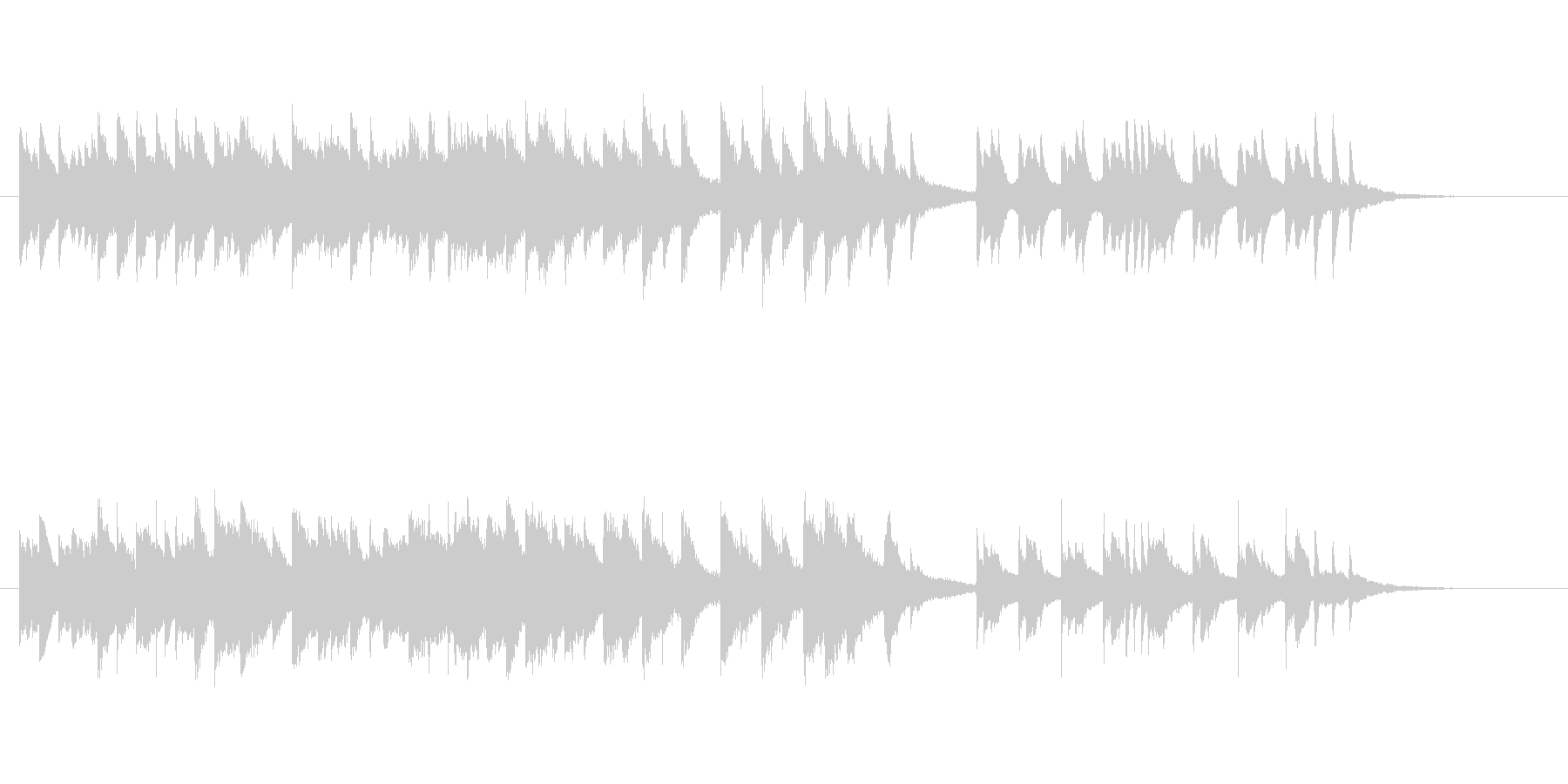 「さくらさくら」ピアノ切ないアレンジの未再生の波形