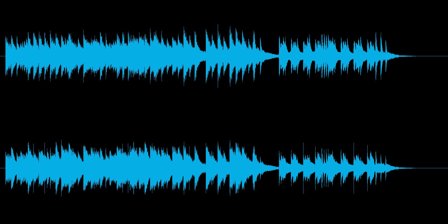 「さくらさくら」ピアノ切ないアレンジの再生済みの波形