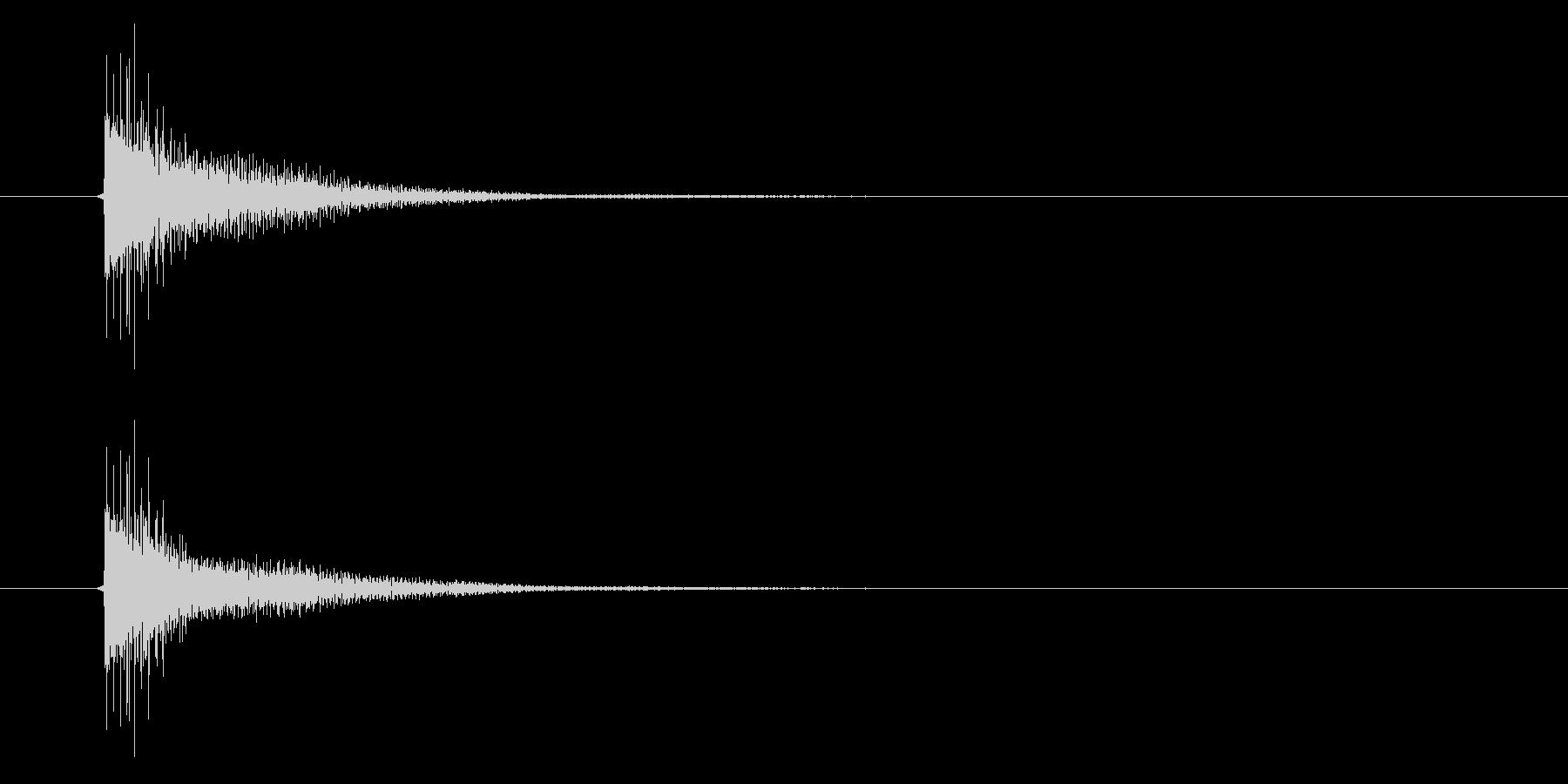 アプリ・ゲームの決定音_018の未再生の波形