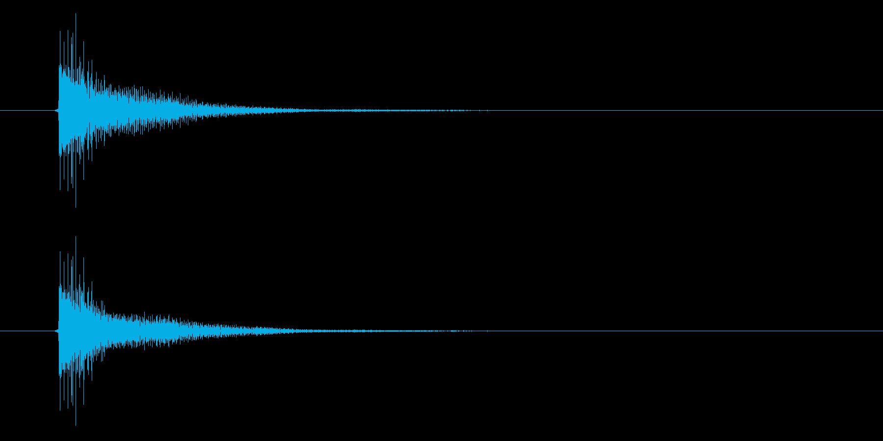 アプリ・ゲームの決定音_018の再生済みの波形