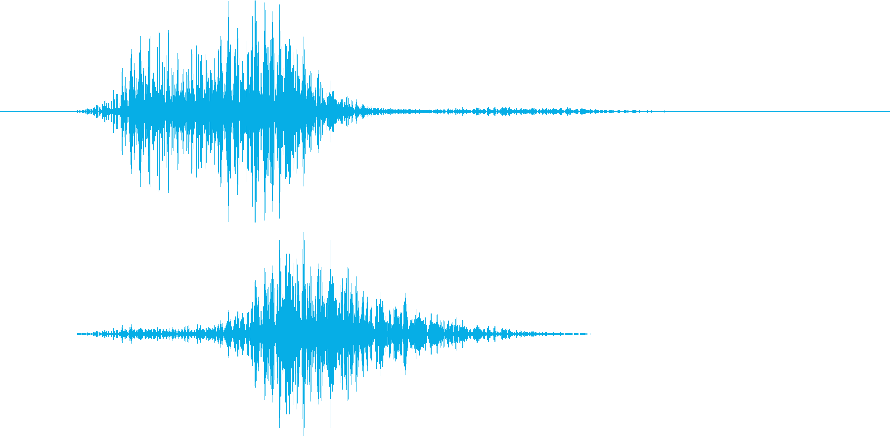 176_通り過ぎる10の再生済みの波形