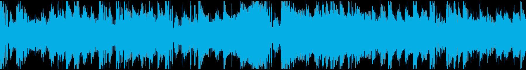 FutureBass_bpm156Looの再生済みの波形