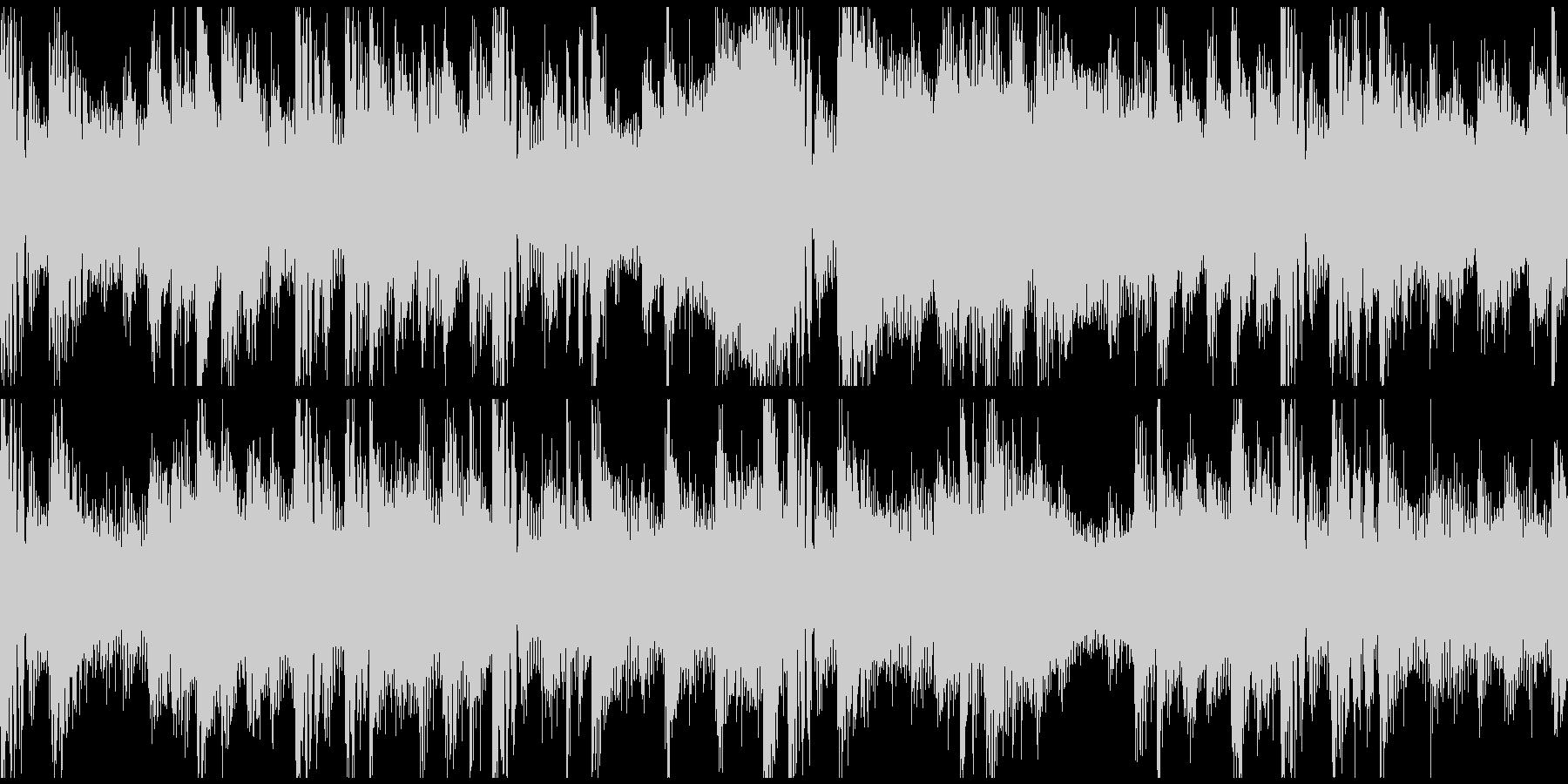FutureBass_bpm156Looの未再生の波形