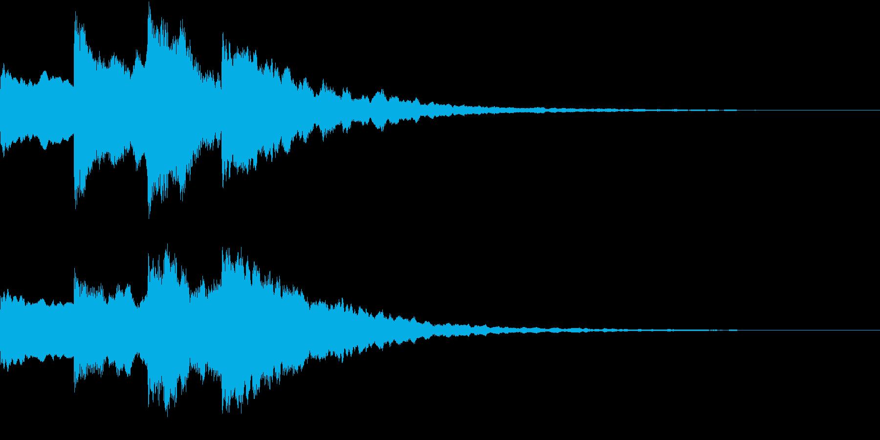 シンプル アナウンス 案内 放送 14の再生済みの波形