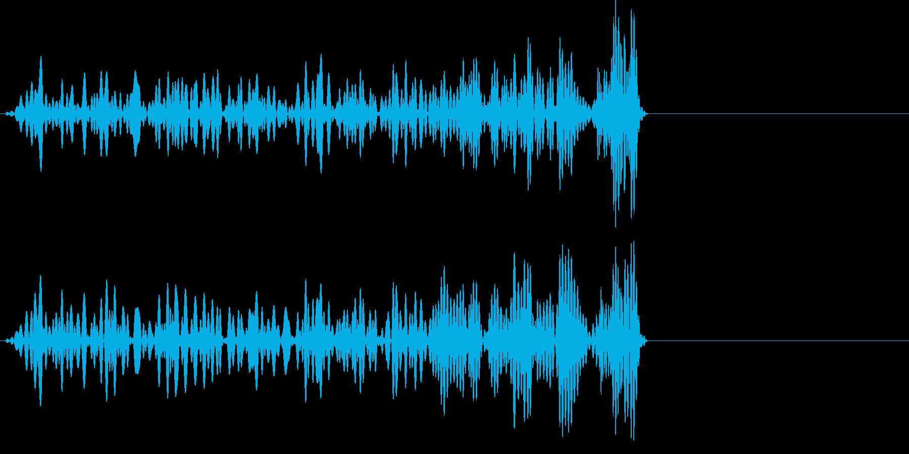 ゴゴゴゴゴッ (岩を動かす音)の再生済みの波形