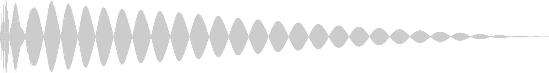 DTM Kick 95 オリジナル音源の未再生の波形