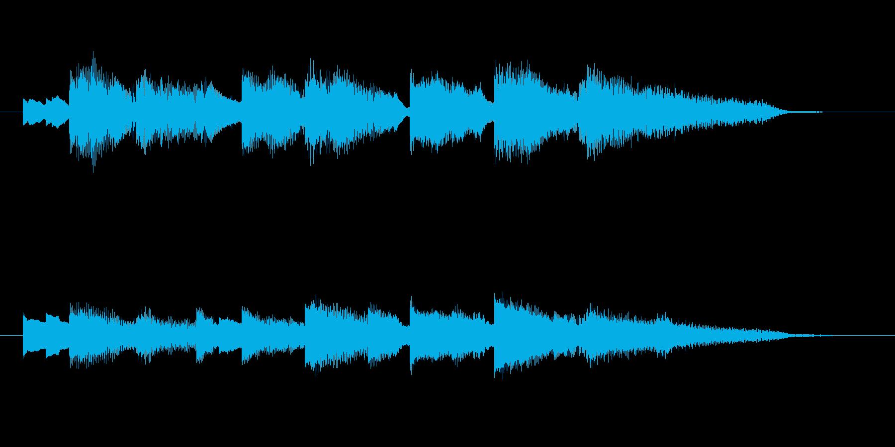 ゲームオーバーのジングルです。音色をエ…の再生済みの波形