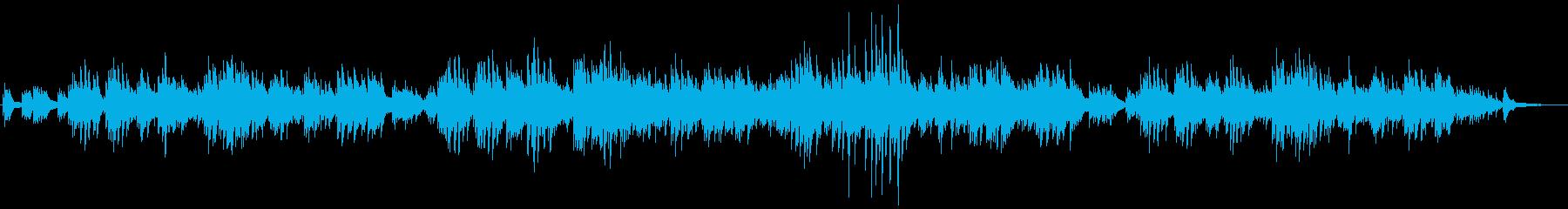 ギターデュオの生演奏による癒しのバラードの再生済みの波形