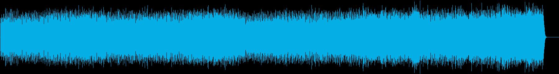 情熱的で爽やかなポップ(フルサイズ)の再生済みの波形
