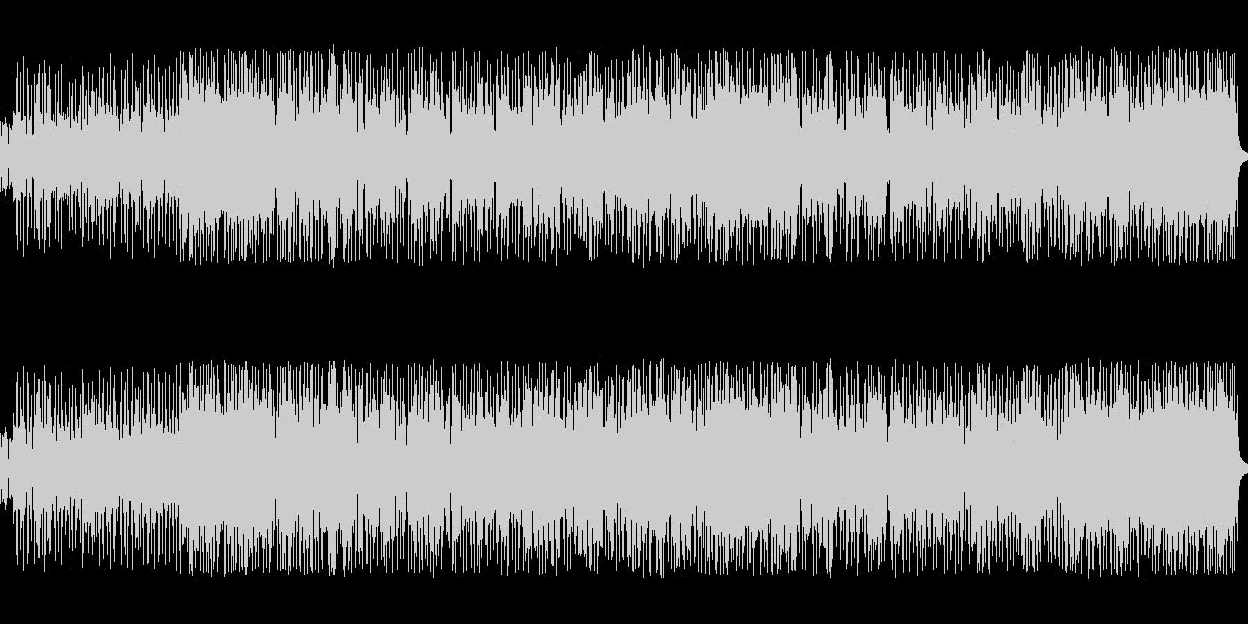 8ビートのノリのいいテクノポップスの未再生の波形