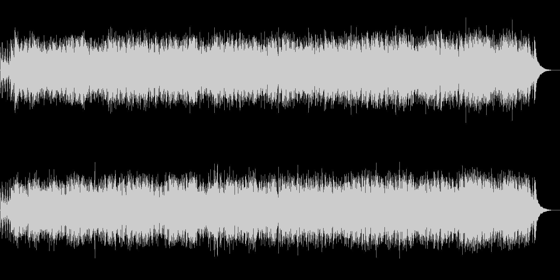 猫のフーガ チェンバロ スカルラッティの未再生の波形