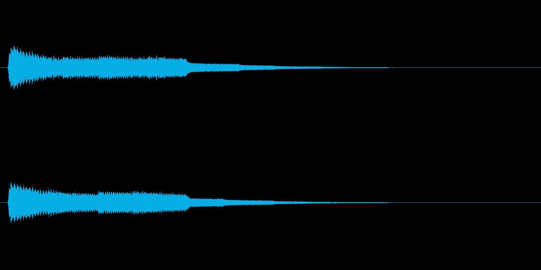 【魔法02-1】の再生済みの波形