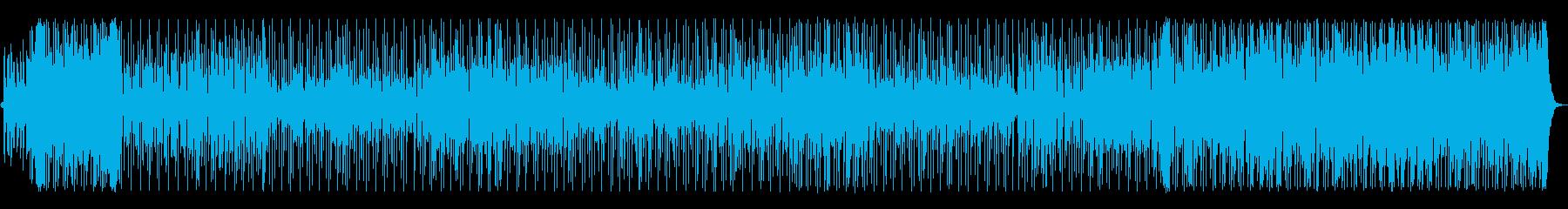 南国の爽やかなミドルテンポのレゲエ調の再生済みの波形