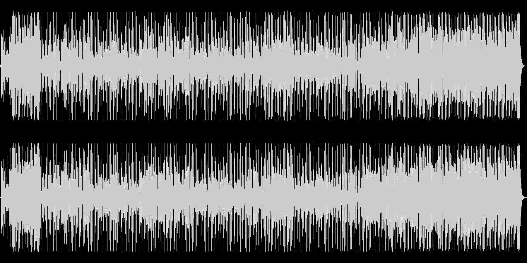 南国の爽やかなミドルテンポのレゲエ調の未再生の波形