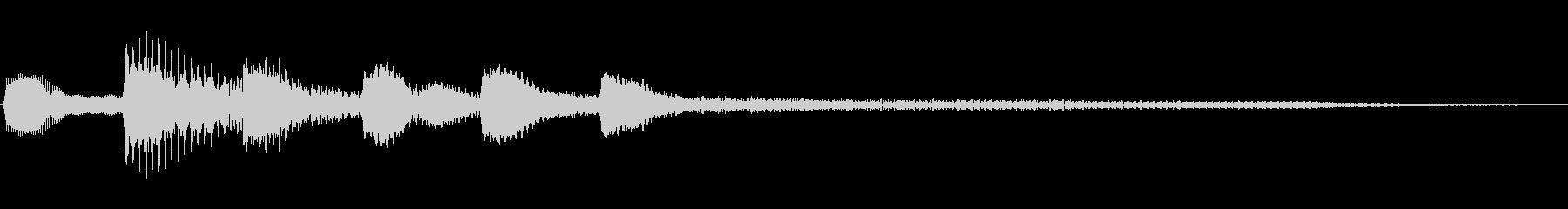 ジングル101fの未再生の波形