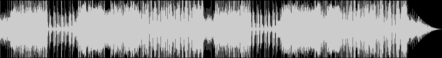 スラップベースが特徴的なファンキーな曲の未再生の波形