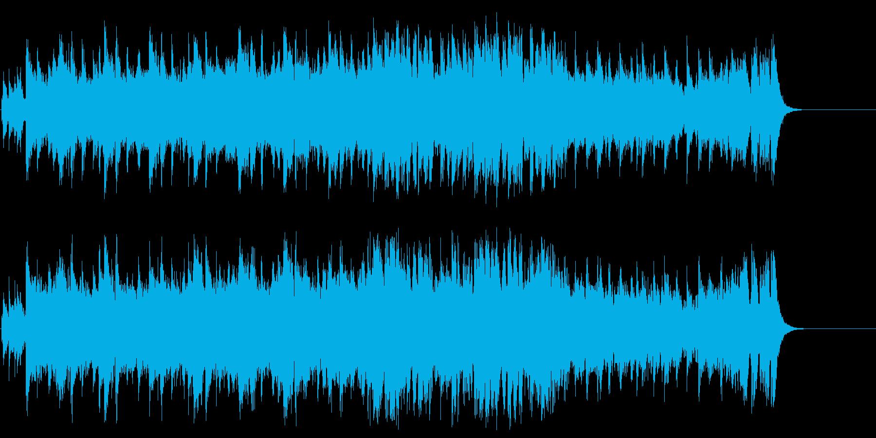 重厚な大胆さが新鮮なエレクトリックポップの再生済みの波形