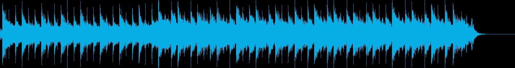 46秒ほどのゆったりとした、プレリュードの再生済みの波形