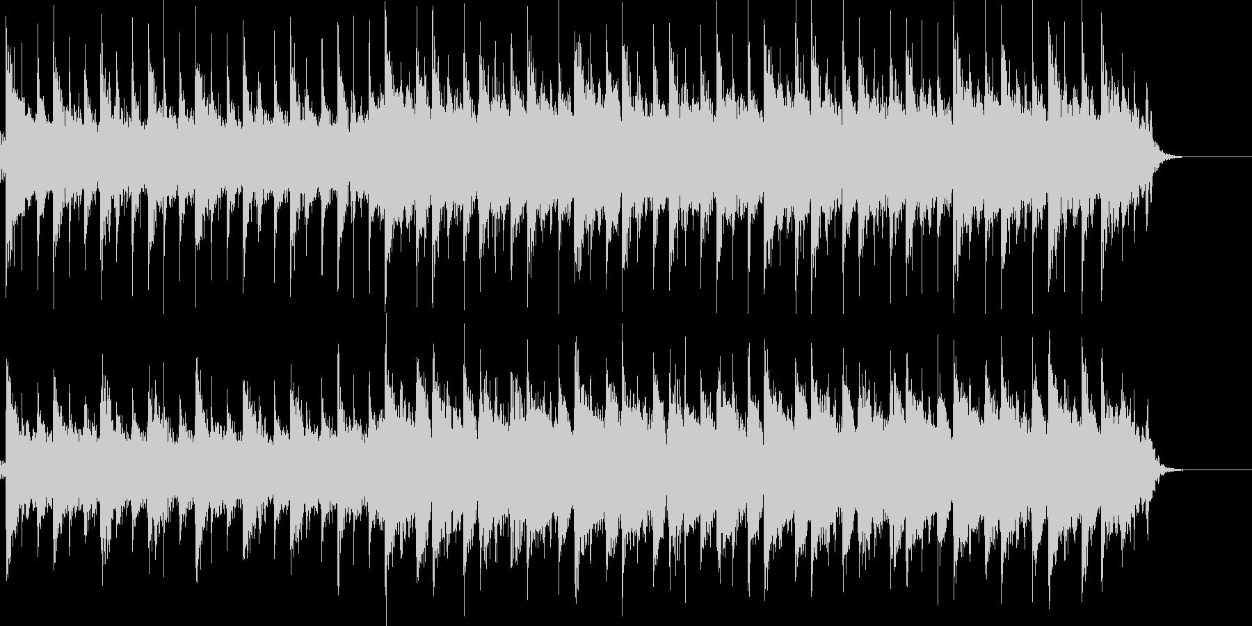 46秒ほどのゆったりとした、プレリュードの未再生の波形
