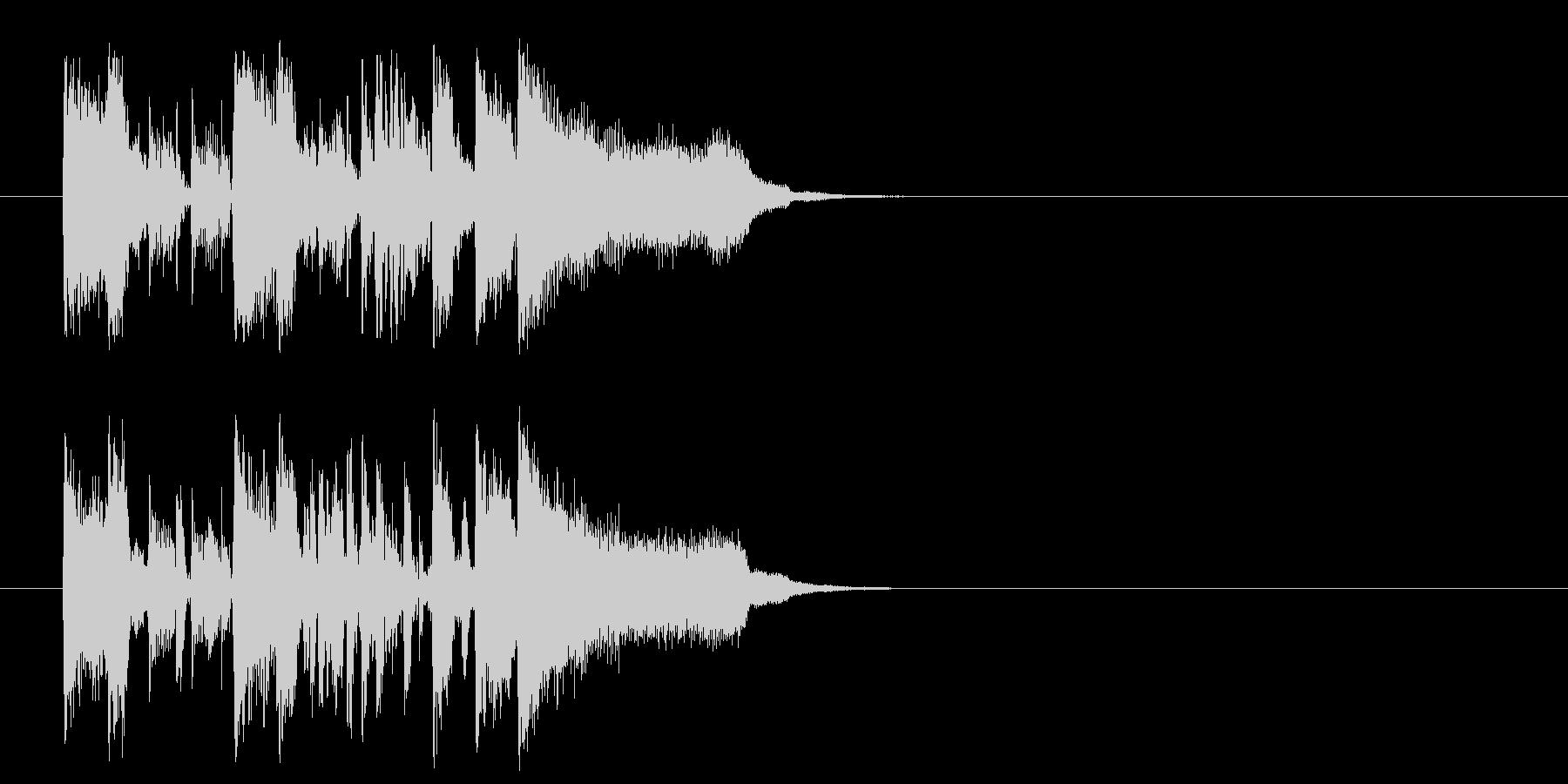 ジングル/新作情報向(フュージョン)の未再生の波形