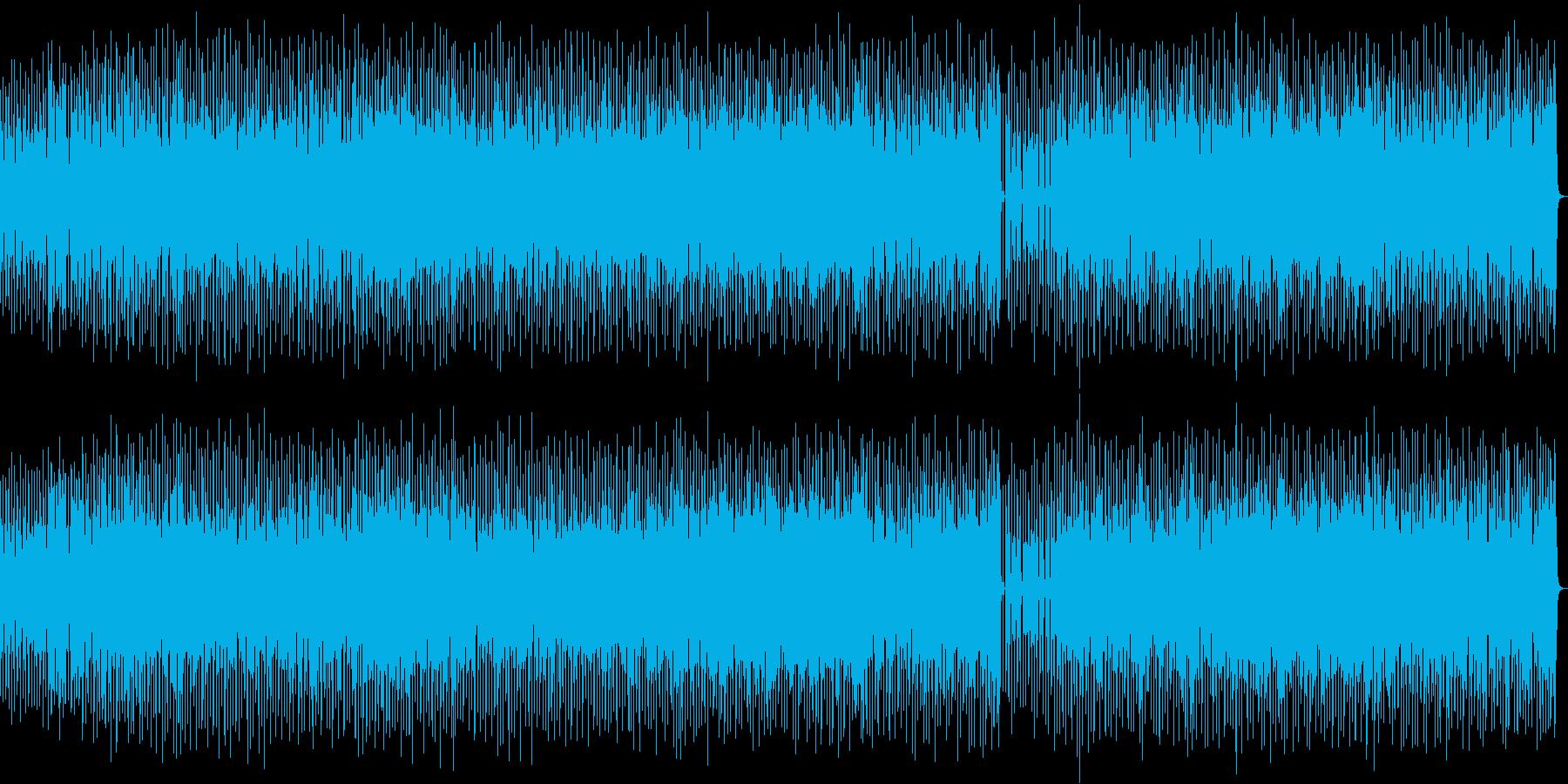 80年代中期シンセポップのインストの再生済みの波形