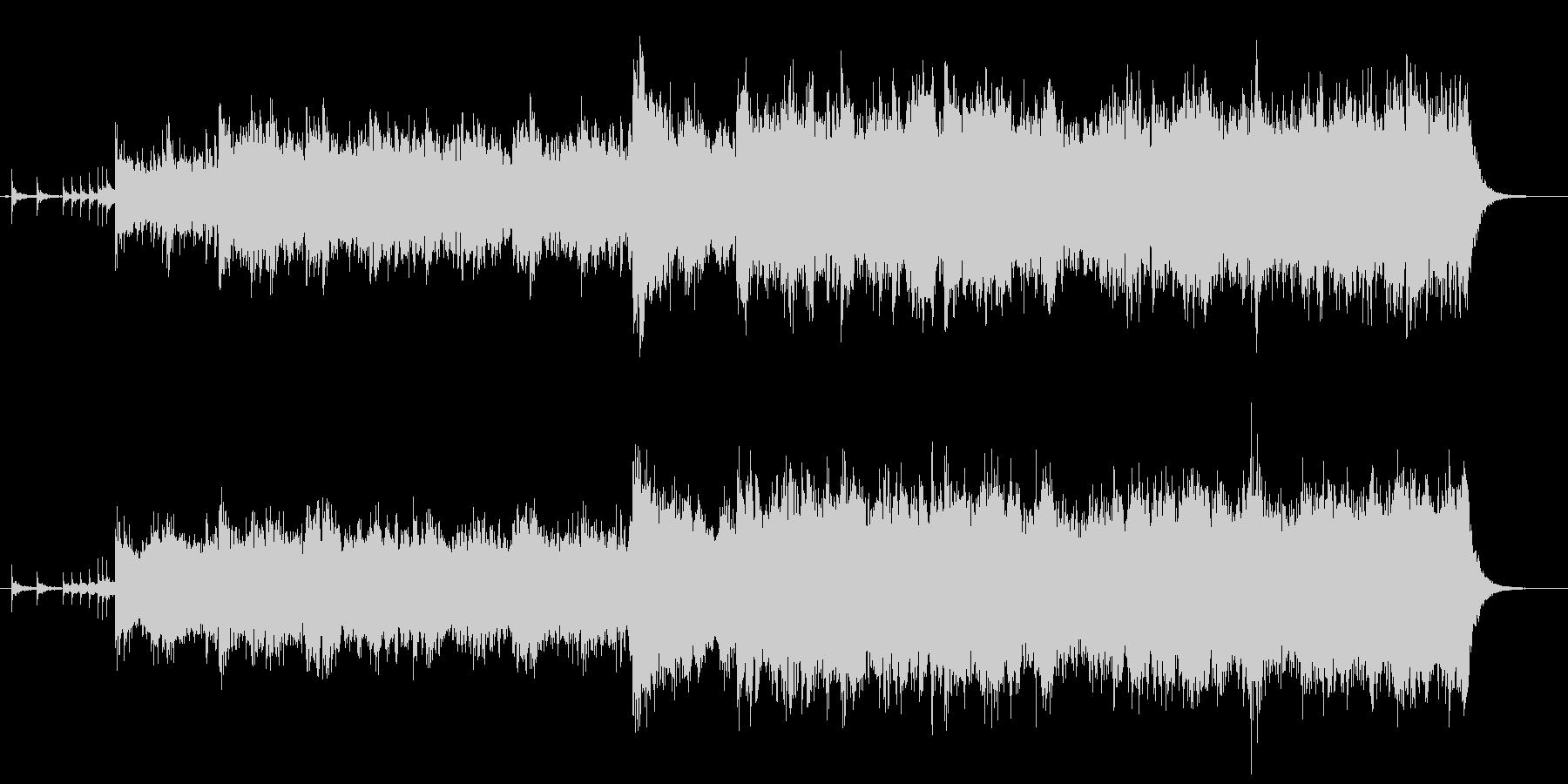 ジプシー民族調の輪舞のイメージで役1分の未再生の波形