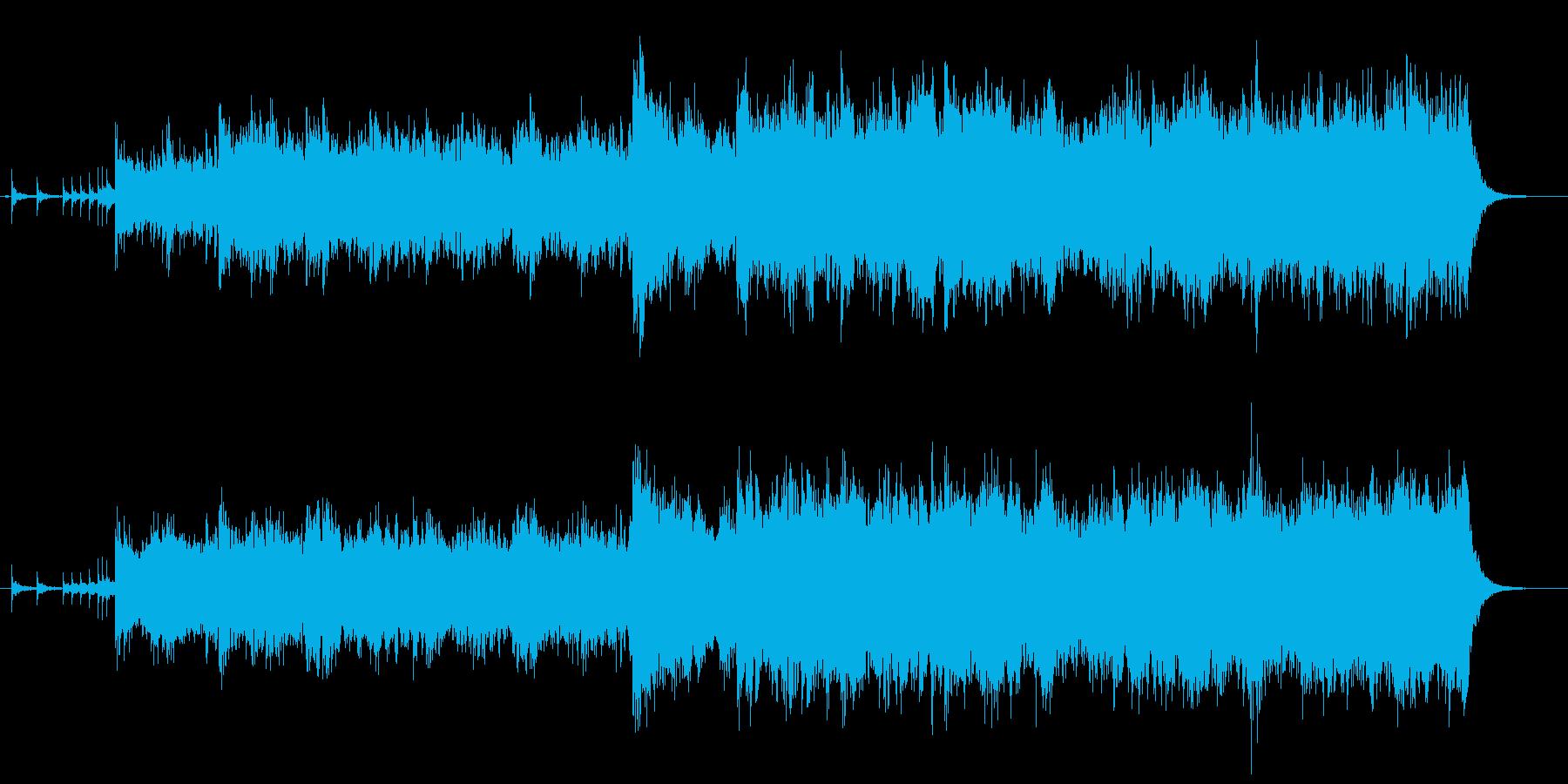 ジプシー民族調の輪舞のイメージで役1分の再生済みの波形