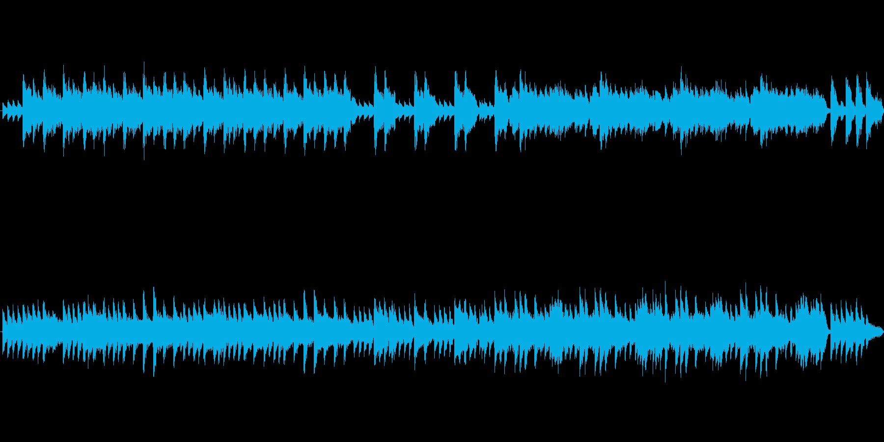物悲しいピアノソロ・AOの再生済みの波形