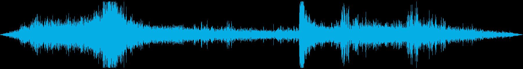 交差点の音 車・信号・雑踏等 その1の再生済みの波形
