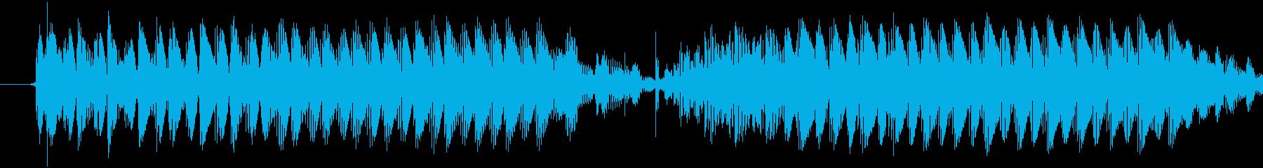 【効果音/危険/アラーム/ブービー】の再生済みの波形