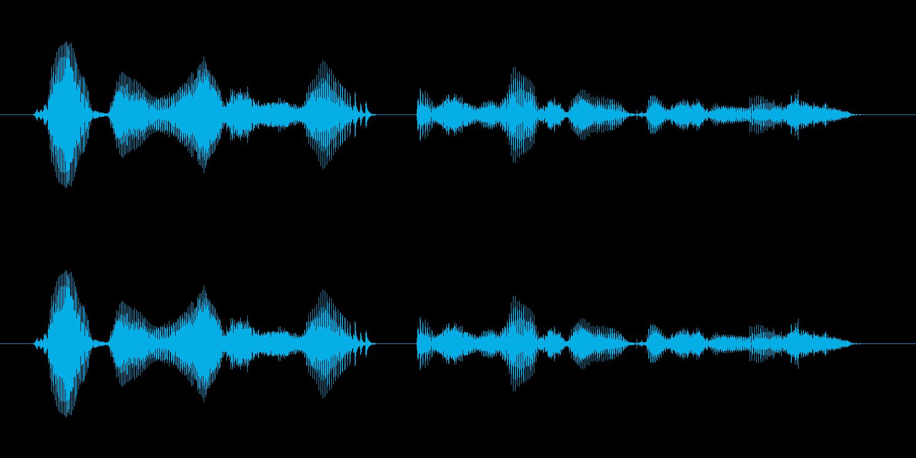 【時報・時間】午後4時を、お知らせいた…の再生済みの波形