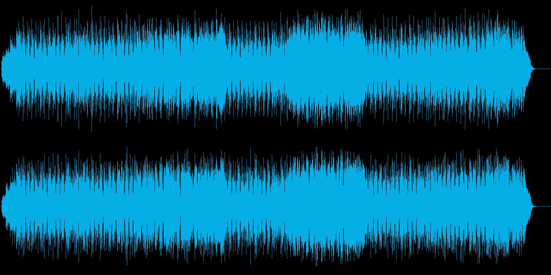 オチャメな和風ポップス(三味線サウンド)の再生済みの波形