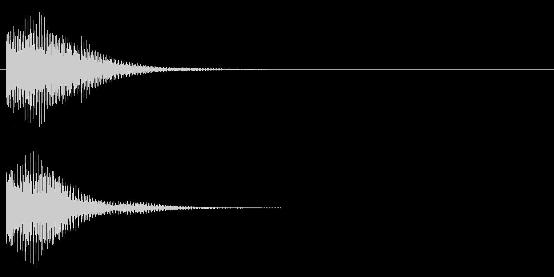ポロンー(琴的)の未再生の波形