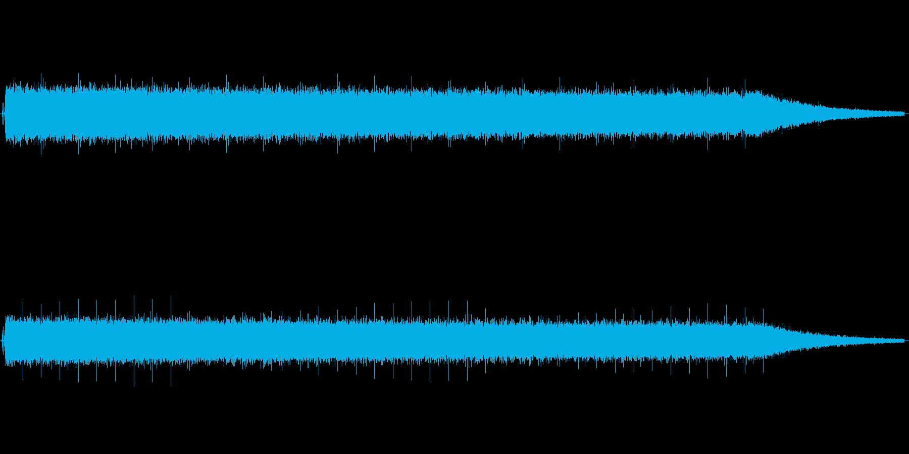 ノイズです。耳障りな音を出したい時用ですの再生済みの波形