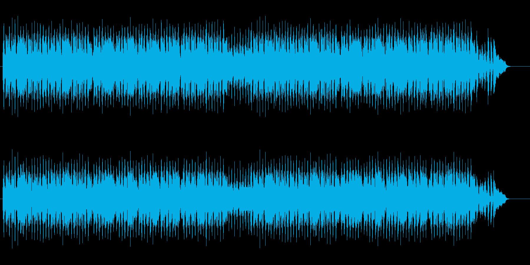 トコトコ歩きたい口笛曲の再生済みの波形
