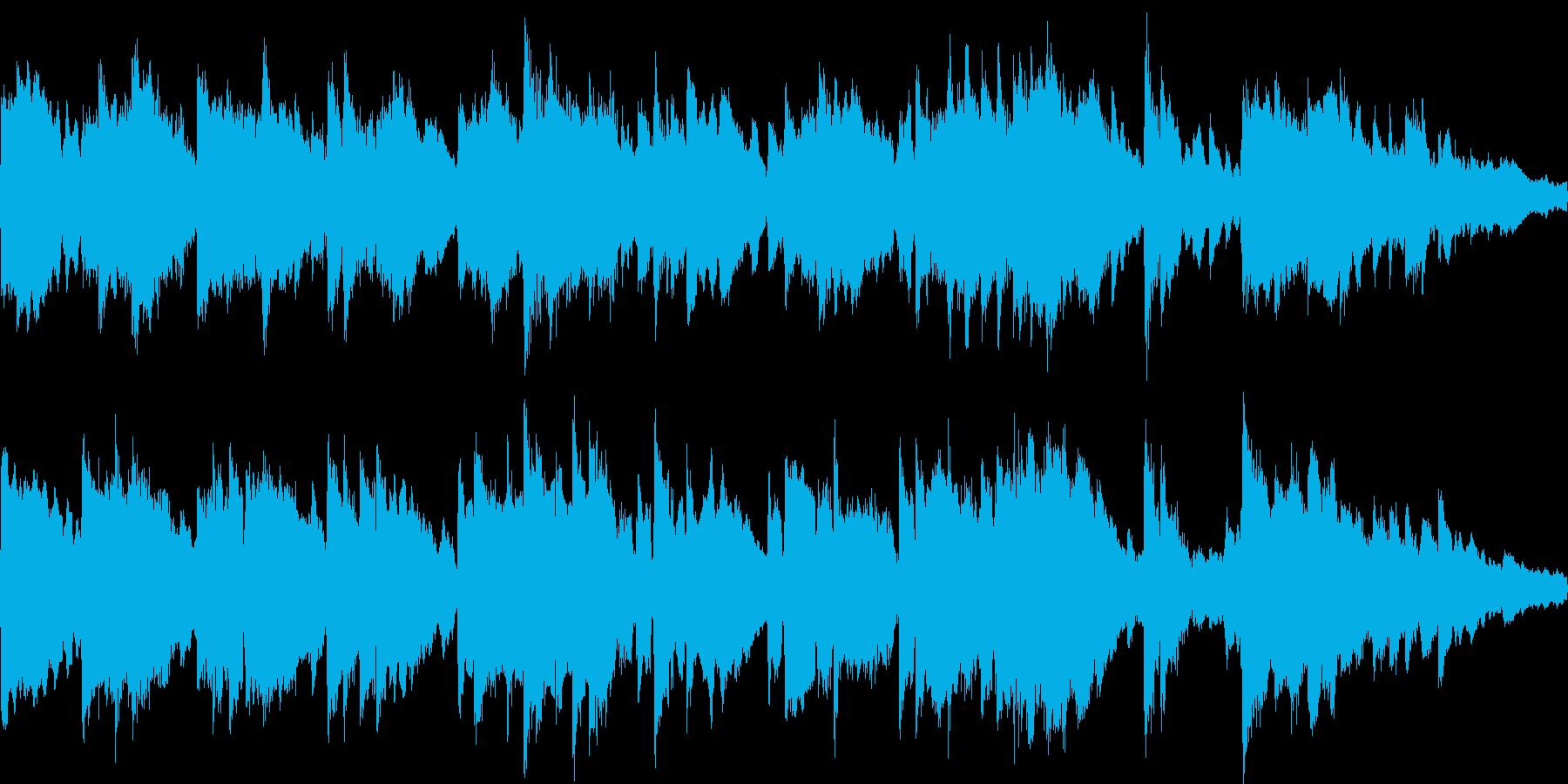 ほのぼのとして安心感のあるジングルループの再生済みの波形