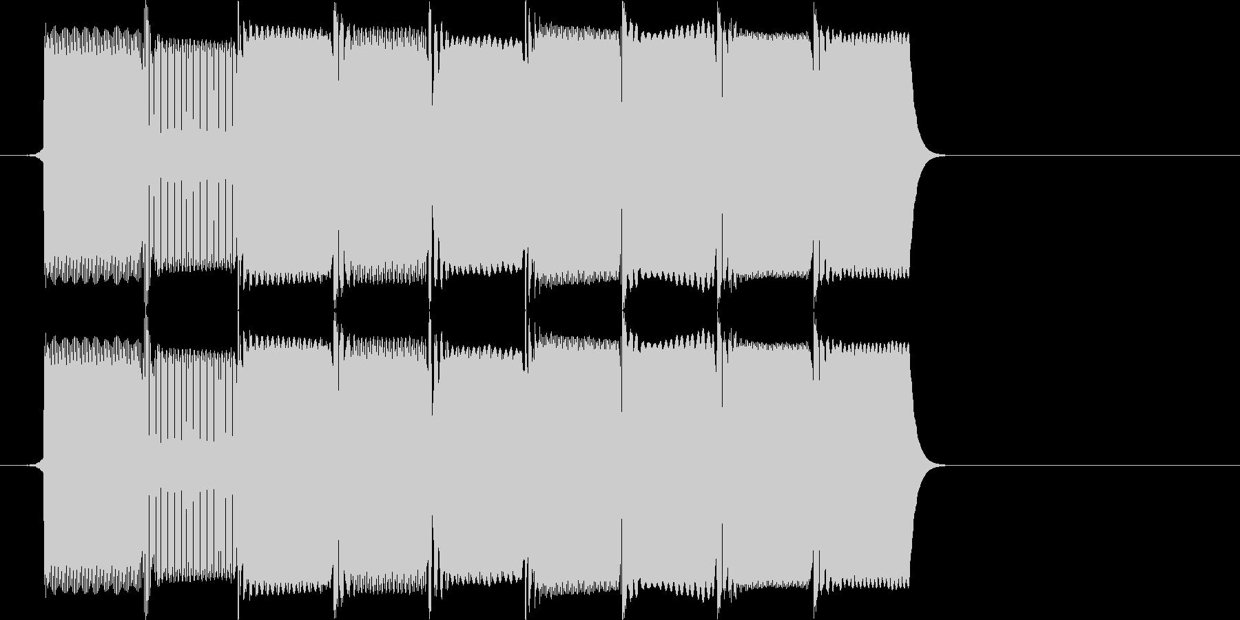 ファミコン風8bit レトロなレベルア…の未再生の波形