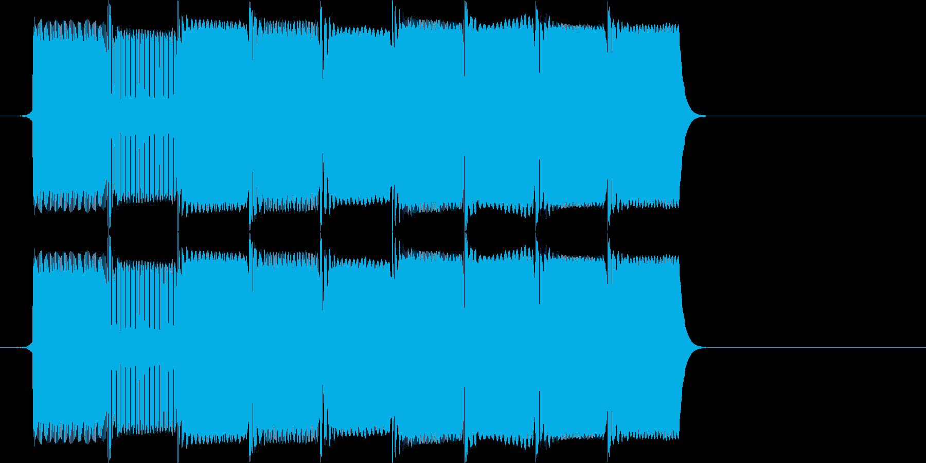 ファミコン風8bit レトロなレベルア…の再生済みの波形