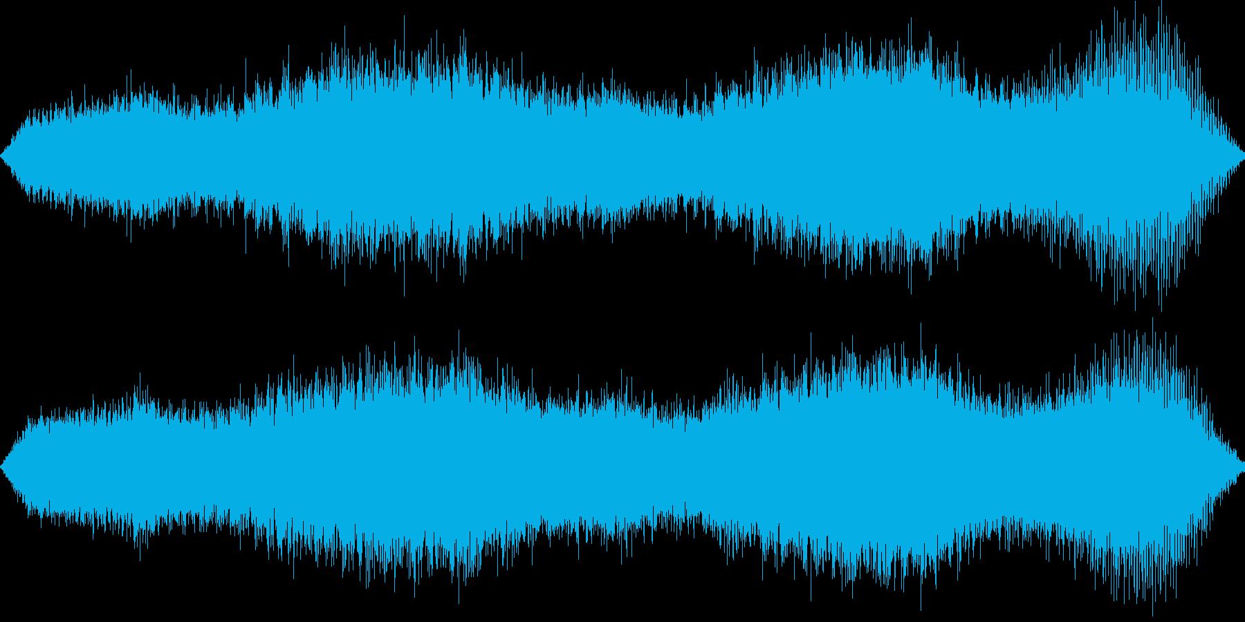 ホラーや洋ゲーのファンタジーのダンジョ…の再生済みの波形