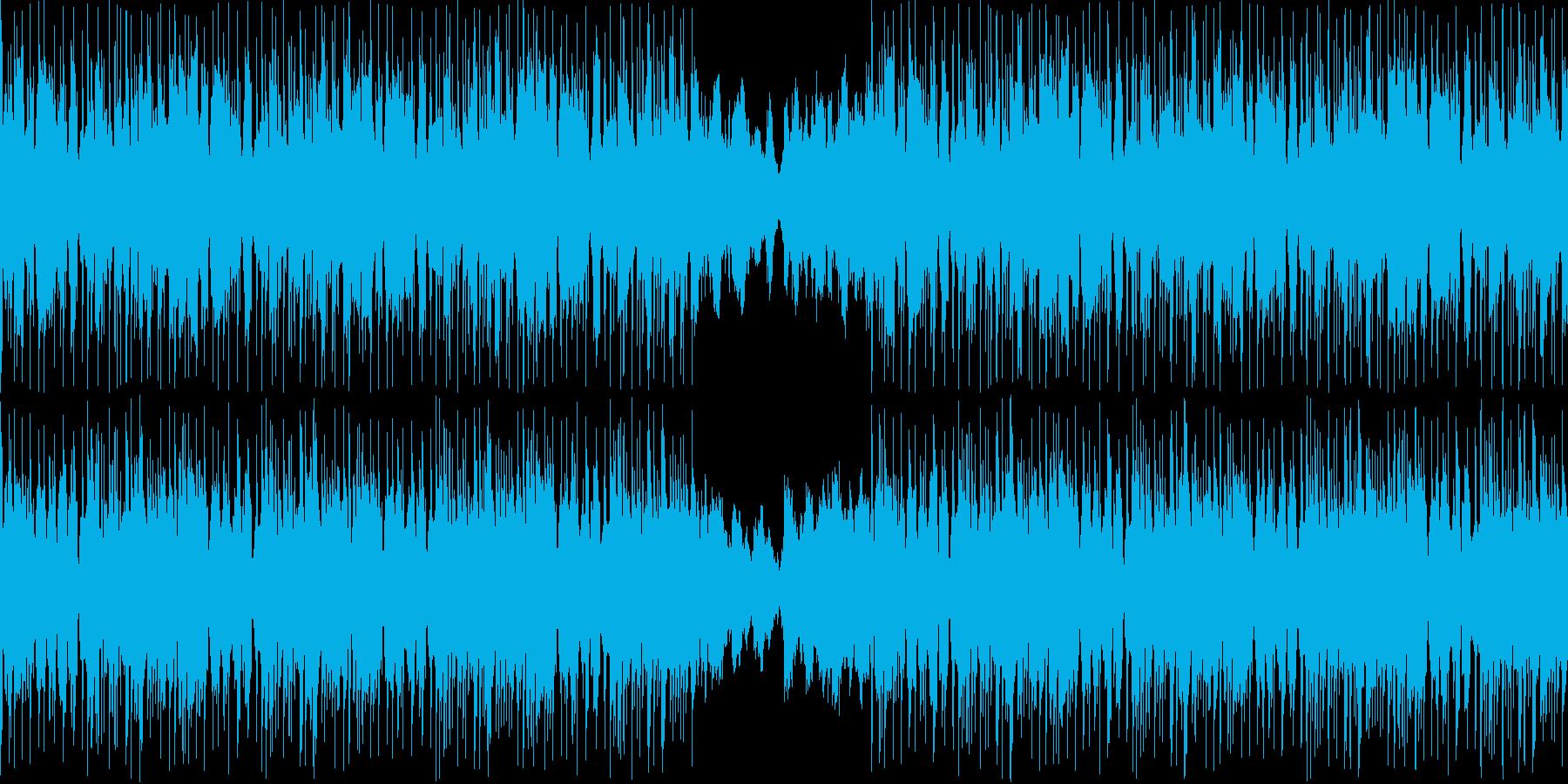 【和風/JAZZ/ラウンジ/BGM】の再生済みの波形