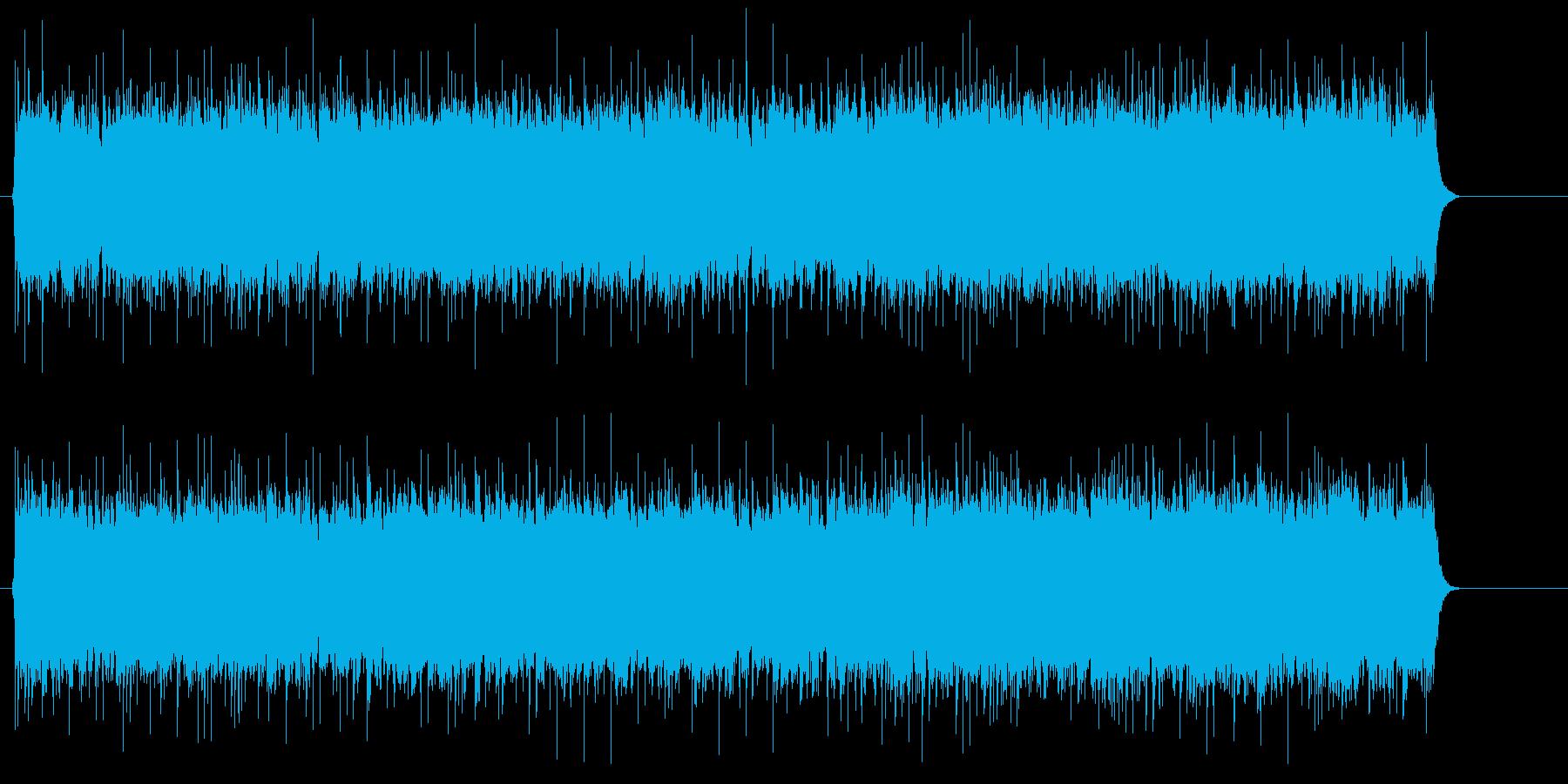 タフな男のアメリカン・ブルース・ロックの再生済みの波形